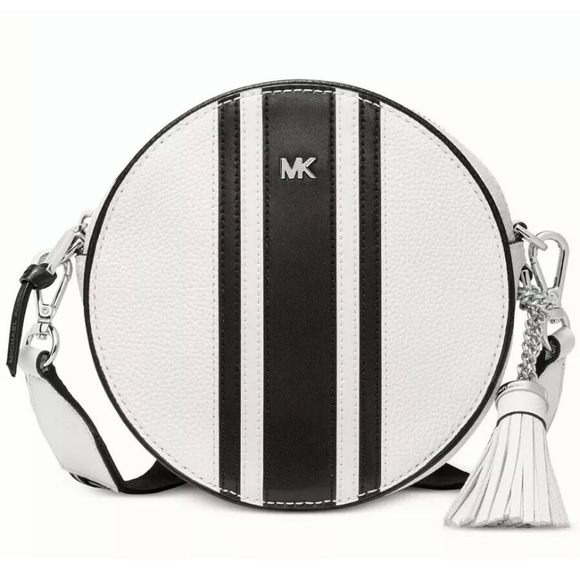 Michael Kors Handbags - Michael Kors Pebble Leather Canteen Bag stripe NWT